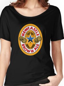 NEWCASTLE BROWN ALE Women's Relaxed Fit T-Shirt