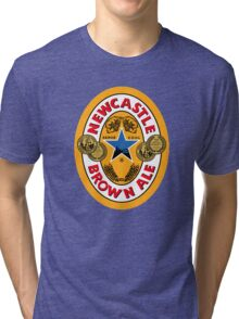 NEWCASTLE BROWN ALE Tri-blend T-Shirt
