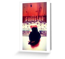 Lone Chess Greeting Card