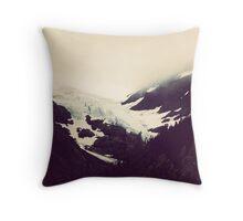Alaskan Glaciers Throw Pillow