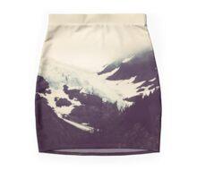 Alaskan Glaciers Mini Skirt