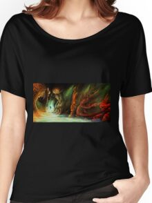 Lost in a Cave Women's Relaxed Fit T-Shirt