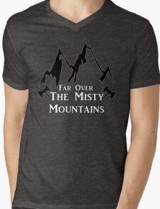 Misty Mountains Mens V-Neck T-Shirt