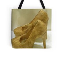 Golden Shoes Tote Bag