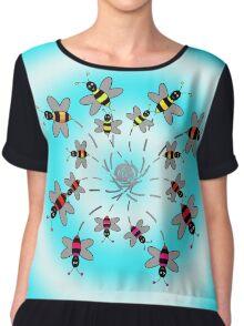 Bees Chiffon Top