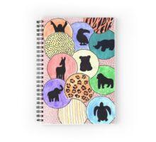 Endangered Animals Spiral Notebook