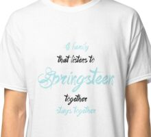 Springsteen family Classic T-Shirt