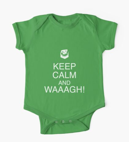 Keep Calm and WAAAGH! One Piece - Short Sleeve