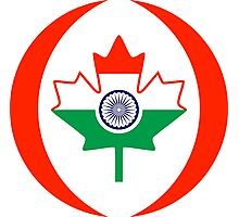 Indo Canadian Multinational Patriot Flag Series Photographic Print
