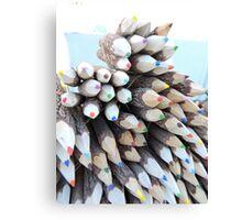 Colours Piled Canvas Print