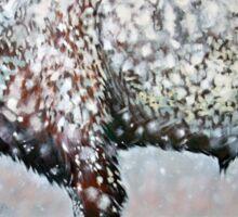Prairie Snow Sticker