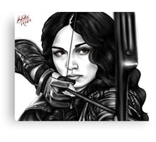 Allison Bow and Arrow Canvas Print
