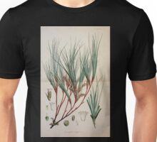 The botany of the Antarctic voyage of H M  discovery ships Erebus and Terror in the Years 1839 1843 Joseph Dalton Hooker V1 178 Unisex T-Shirt