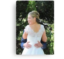 To Hold (Pastel effect) Canvas Print