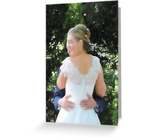 To Hold (Pastel effect) Greeting Card