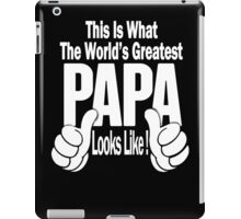 Father's Day iPad Case/Skin