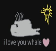 I love whales One Piece - Long Sleeve