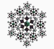 Dice Snowflake Kids Tee