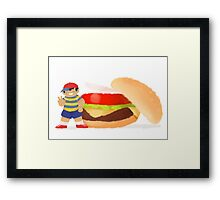 Burger Boys (Ness only) Framed Print