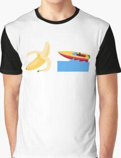 Banana Boat Graphic T-Shirt