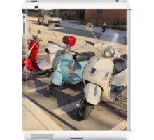 Scooter Photo iPad Case/Skin