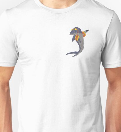 Swimming Shark Isolated Unisex T-Shirt