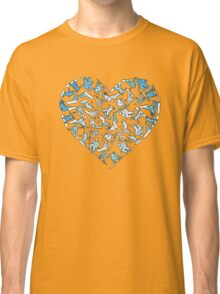 In Love With Snowboarding (light) Classic T-Shirt