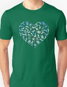 In Love With Snowboarding (light) Unisex T-Shirt