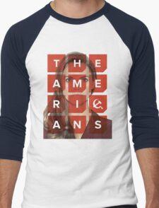 The Americans - Elizabeth Men's Baseball ¾ T-Shirt