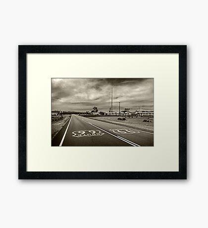 Route 66 Framed Print