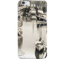 Boats Big and Small - Cornwall iPhone Case/Skin
