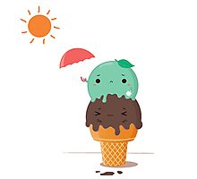 SUMMER ICE CREAM Photographic Print