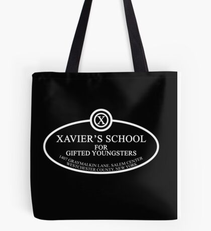 X Men - Xaviers School Tote Bag