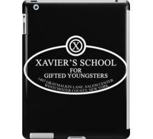 X Men - Xavier's School iPad Case/Skin