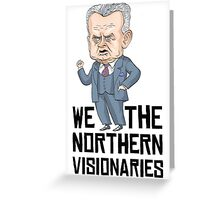 Dief the Northern Visionary Greeting Card