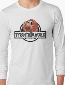 Tyrantrum World Long Sleeve T-Shirt