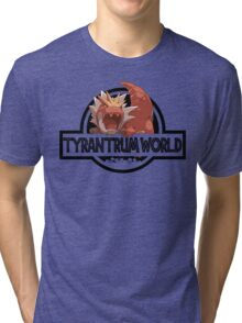 Tyrantrum World Tri-blend T-Shirt