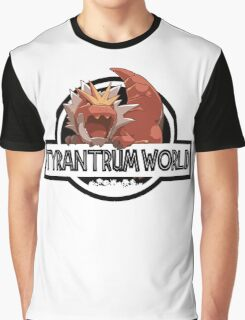 Tyrantrum World Graphic T-Shirt