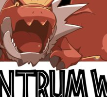 Tyrantrum World Sticker