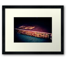 Tale of Intrigue Framed Print