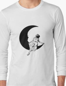 Lady in the Moon Long Sleeve T-Shirt