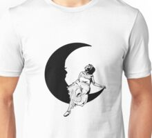 Lady in the Moon Unisex T-Shirt