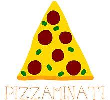Pizzaminati Photographic Print