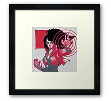 Scarlet witch Framed Print