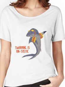 Swimming is Fin-tastic! Women's Relaxed Fit T-Shirt