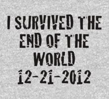 I Survived 2012 Kids Tee