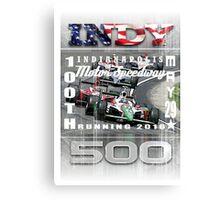 indy 500 Canvas Print