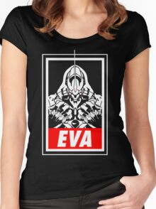 EVA (obey) Women's Fitted Scoop T-Shirt