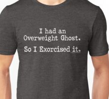 Overweight Ghost Exorcise Unisex T-Shirt