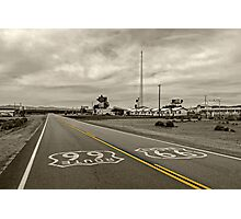 Get Your Kicks on Route 66 Photographic Print